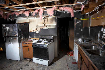 Chicago Heights IL | Andre Frank Fire Damage Restoration | Smoke Damage Cleanup